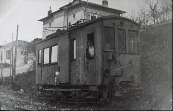 Wagon du tramway