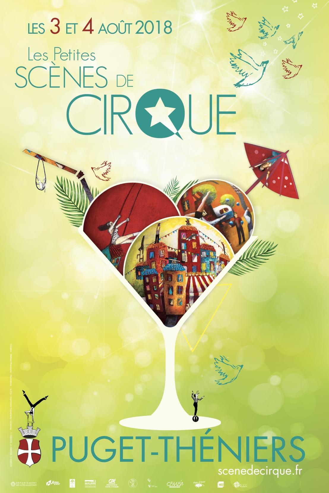 Affiche - Les Petites Scènes de Cirque