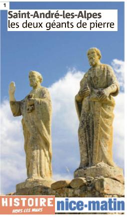 Histoire :Saint André les Alpes