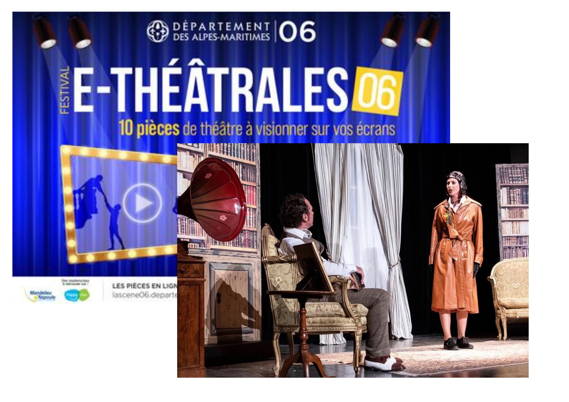 Département 06 : Les E-théâtrales se jouent à domicile !